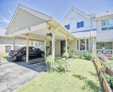21 Bay Crest Dr- Brampton- Ontario L6Z1H5, 3 Bedrooms Bedrooms, 6 Rooms Rooms,2 BathroomsBathrooms,Att/row/twnhouse,Sale,Bay Crest,W4795037