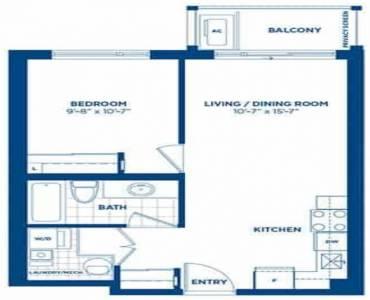 1 Rosebank Dr- Toronto- Ontario M1B5P6, 1 Bedroom Bedrooms, 2 Rooms Rooms,1 BathroomBathrooms,Condo Apt,Sale,Rosebank,E4801553