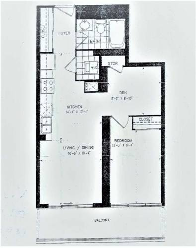 33 Bay St- Toronto- Ontario M5J2Z3, 1 Bedroom Bedrooms, 5 Rooms Rooms,1 BathroomBathrooms,Condo Apt,Sale,Bay,C4784996