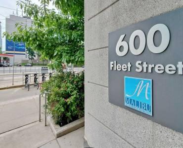 600 Fleet St, Toronto, Ontario M5V1B7, 1 Bedroom Bedrooms, 5 Rooms Rooms,1 BathroomBathrooms,Condo Apt,Sale,Fleet,C4804258
