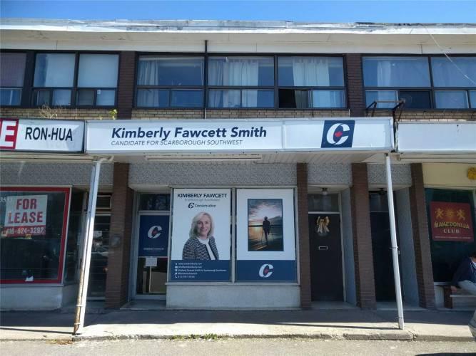 3551 St Clair Ave- Toronto- Ontario M1K1L6, ,3 BathroomsBathrooms,Store W/apt/office,Sale,St Clair,E4782493