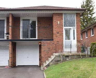 46 Terryhill Cres- Toronto- Ontario M1S3X5, 3 Bedrooms Bedrooms, 10 Rooms Rooms,2 BathroomsBathrooms,Semi-detached,Sale,Terryhill,E4807845