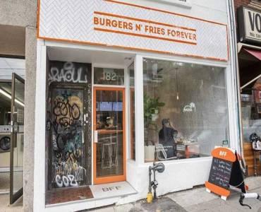 182 Ossington Ave, Toronto, Ontario M6J2Z7, ,Sale Of Business,Sale,Ossington,C4749697