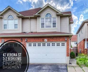 47 Verona St- Kitchener- Ontario N2R 1T9, 3 Bedrooms Bedrooms, 7 Rooms Rooms,3 BathroomsBathrooms,Semi-detached,Sale,Verona,X4810148