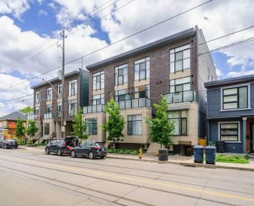 1321 Gerrard St- Toronto- Ontario M4L1Y8, 1 Bedroom Bedrooms, 4 Rooms Rooms,1 BathroomBathrooms,Condo Townhouse,Sale,Gerrard,E4811852
