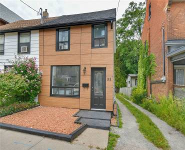 98 Peter St- Hamilton- Ontario L8R 1T6, 2 Bedrooms Bedrooms, 5 Rooms Rooms,1 BathroomBathrooms,Semi-detached,Sale,Peter,X4812586