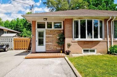 83 Lindsay Ave- Newmarket- Ontario L3Y4N7, 3 Bedrooms Bedrooms, 6 Rooms Rooms,2 BathroomsBathrooms,Semi-detached,Sale,Lindsay,N4812892
