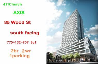 85 Wood St- Toronto- Ontario M4Y 0E8, 2 Bedrooms Bedrooms, 6 Rooms Rooms,2 BathroomsBathrooms,Condo Apt,Lease,Wood,C4813214