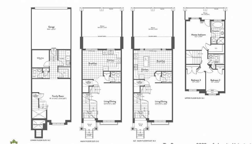 1540 Rutherford Road, Vaughan, Ontario L4K2N4, 3 Bedrooms Bedrooms, 3 Rooms Rooms,2 BathroomsBathrooms,Att/row/twnhouse,New Construction,Rutherford Road,6090
