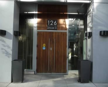 126 Simcoe St- Toronto- Ontario M5H4E6, 1 Bedroom Bedrooms, 4 Rooms Rooms,1 BathroomBathrooms,Condo Apt,Sale,Simcoe,C4770642